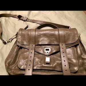 Proenza Schouler Large PS1 Satchel in army green